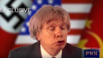 Mark Pirro as Donald Trump