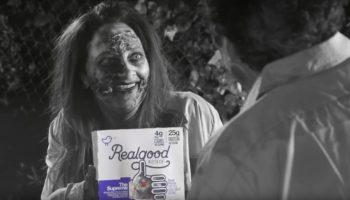 Lauren Baldwin Real Foods ad